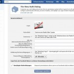 Facebook Developers - App-Auth-Einstellungen